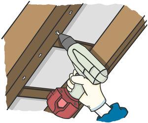 Bekannt Zwischensparrendämmung am Dach selber anbringen: Anleitung VV41